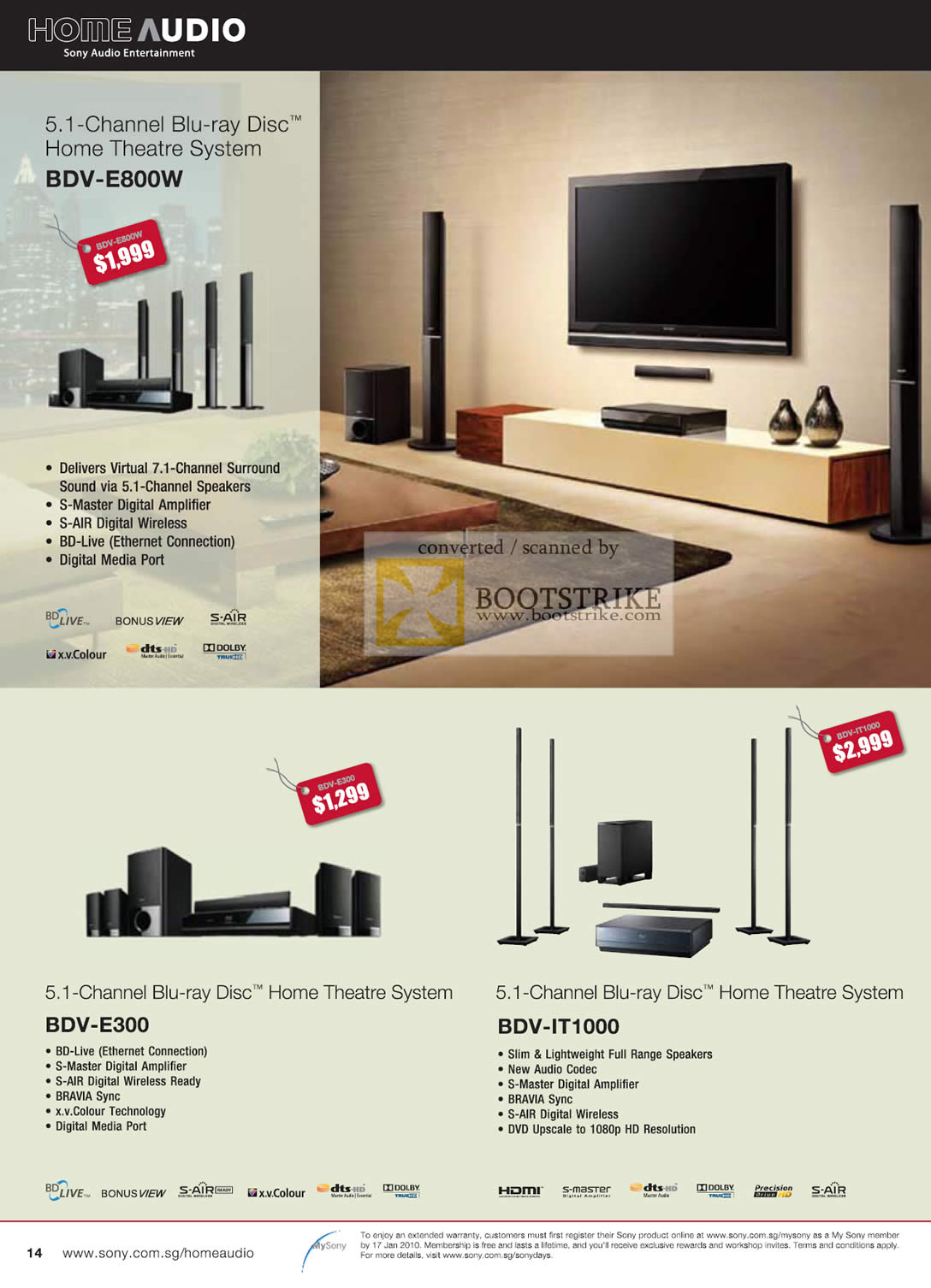 sony home theater system price list. c3 2009 price list image brochure of sony home audio blu ray disc theatre system. « theater system h
