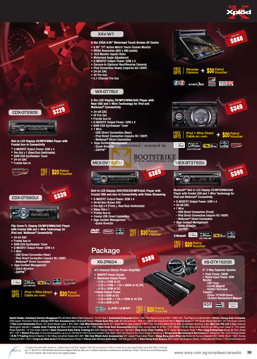 Sony Xplod Car Audio Wiring Diagram Additionally Xav Besides Mex Price List Brochure 1064x1486
