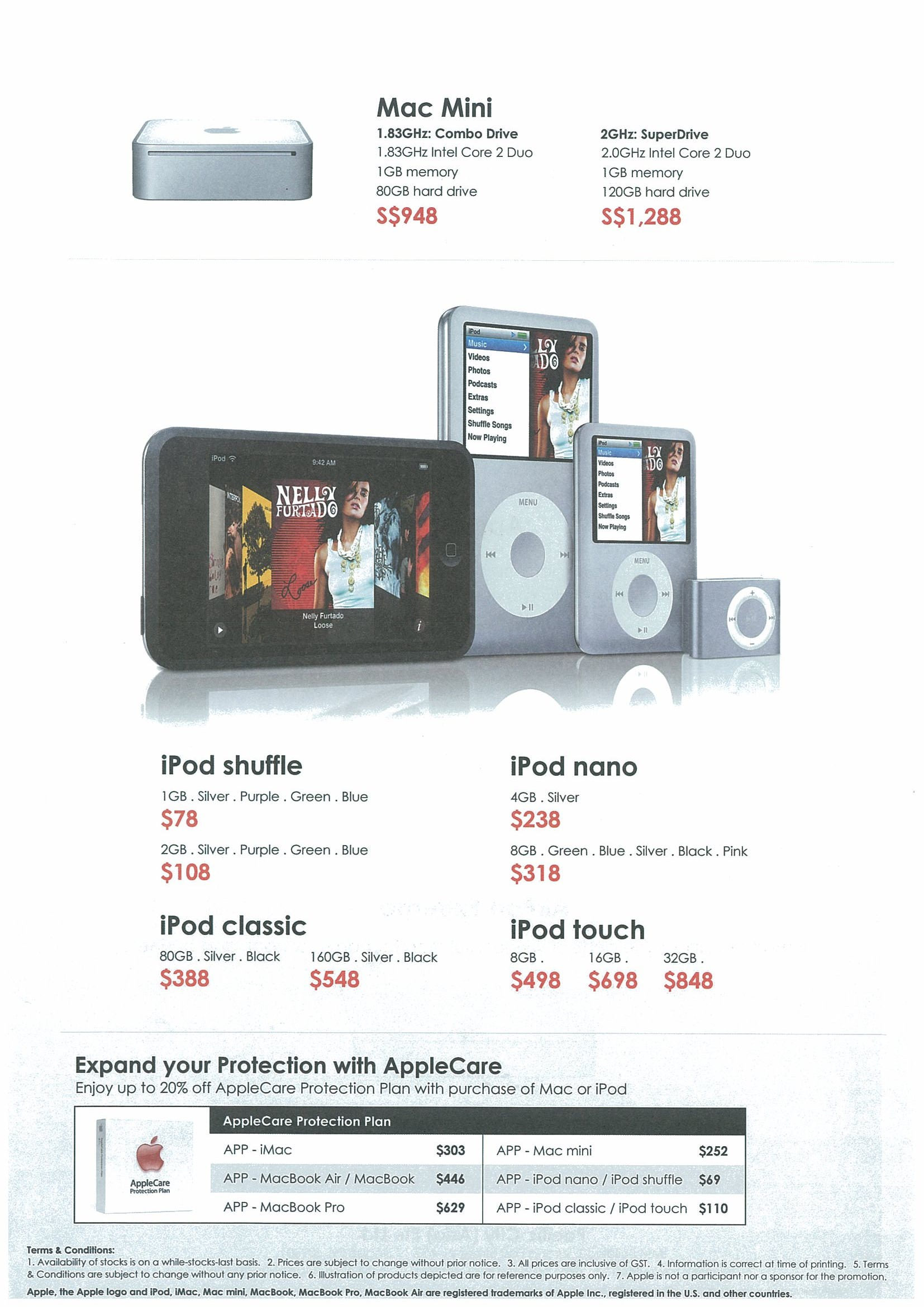 Comex 2008 price list image brochure of Apple Pacific City Page 3