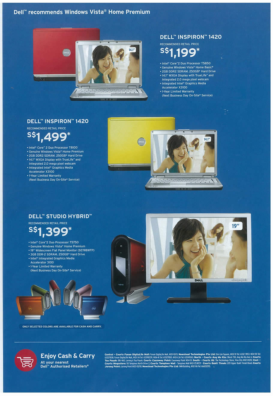 Comex 2008 price list image brochure of Dell 01 Page 2