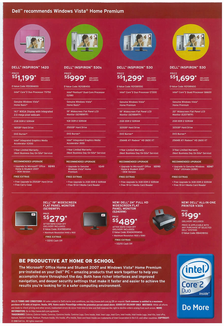 Comex 2008 price list image brochure of Dell 02 Page 3