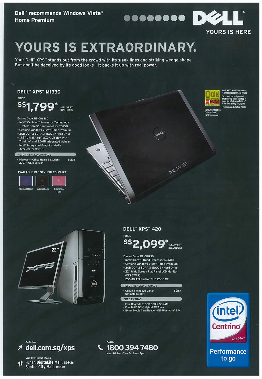 Comex 2008 price list image brochure of Dell 02 Page 4
