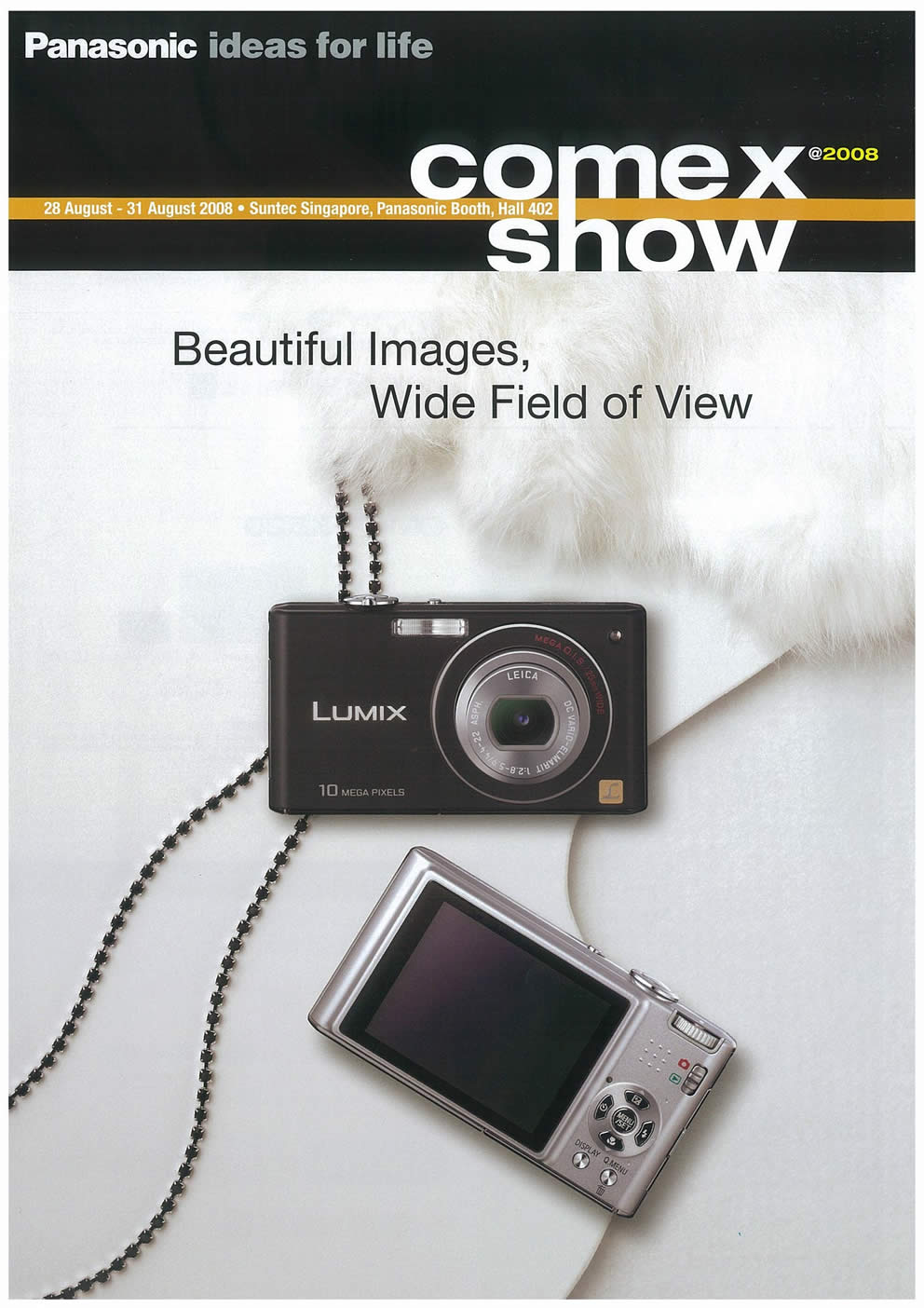 Comex 2008 price list image brochure of Panasonic Cameras Camcorders Page 1