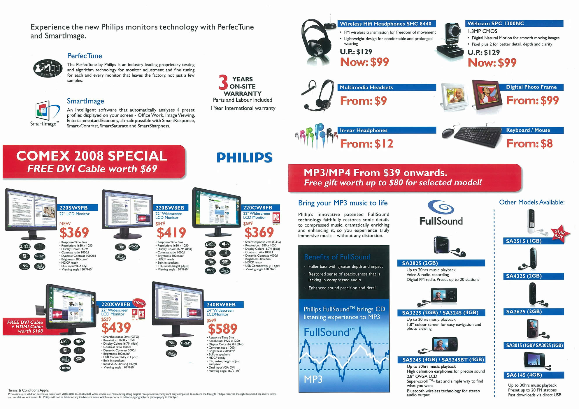 Comex 2008 price list image brochure of Philips Page 2