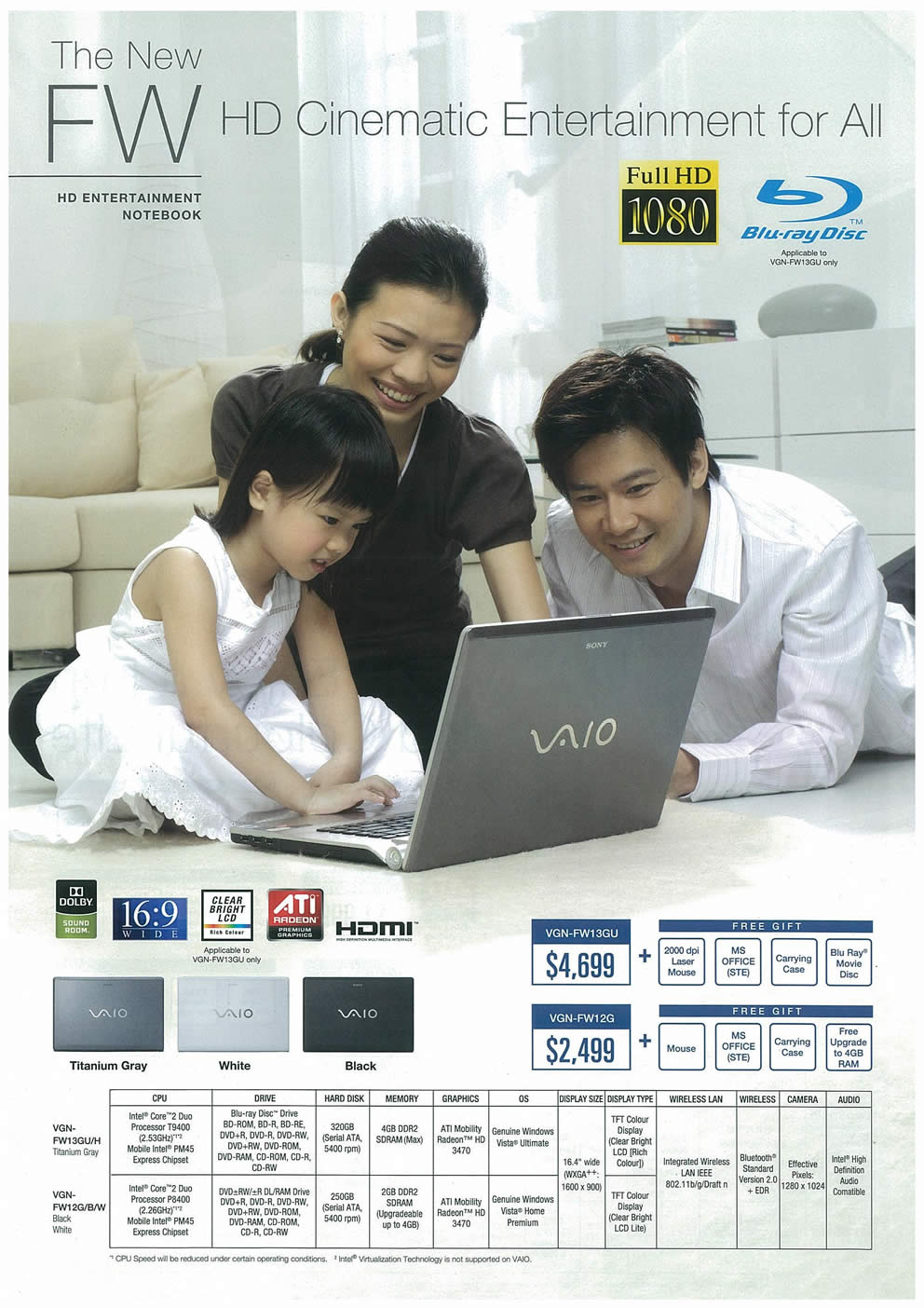 Comex 2008 price list image brochure of Sony VAIO Page 3
