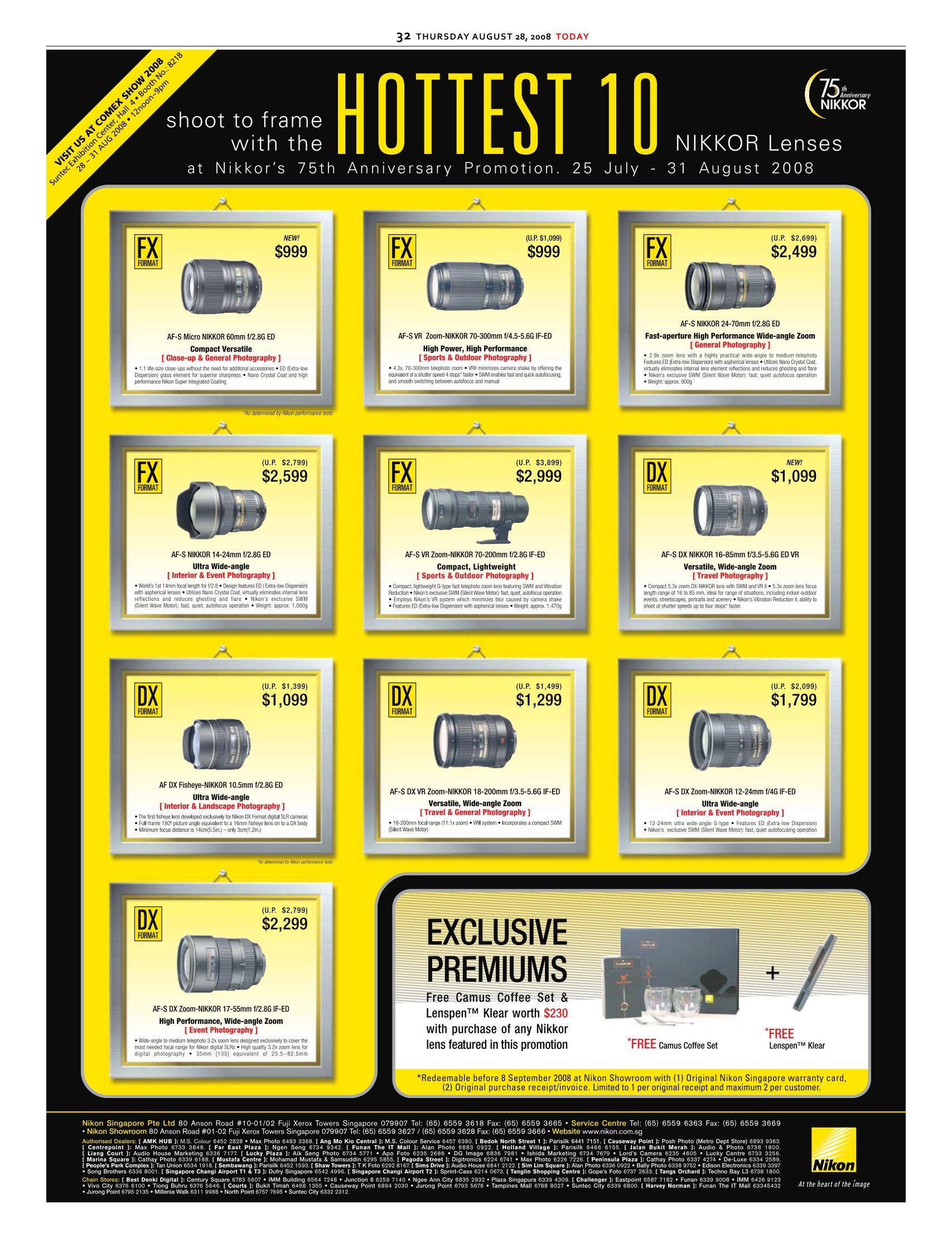 Comex 2008 price list image brochure of Nikon Lens.pdf 01