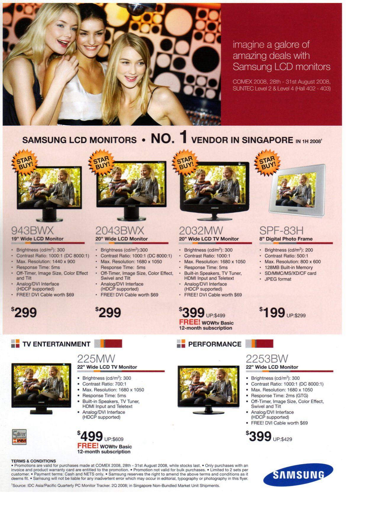 Comex 2008 price list image brochure of Samsung Lcd Monitors 1.pdf 01