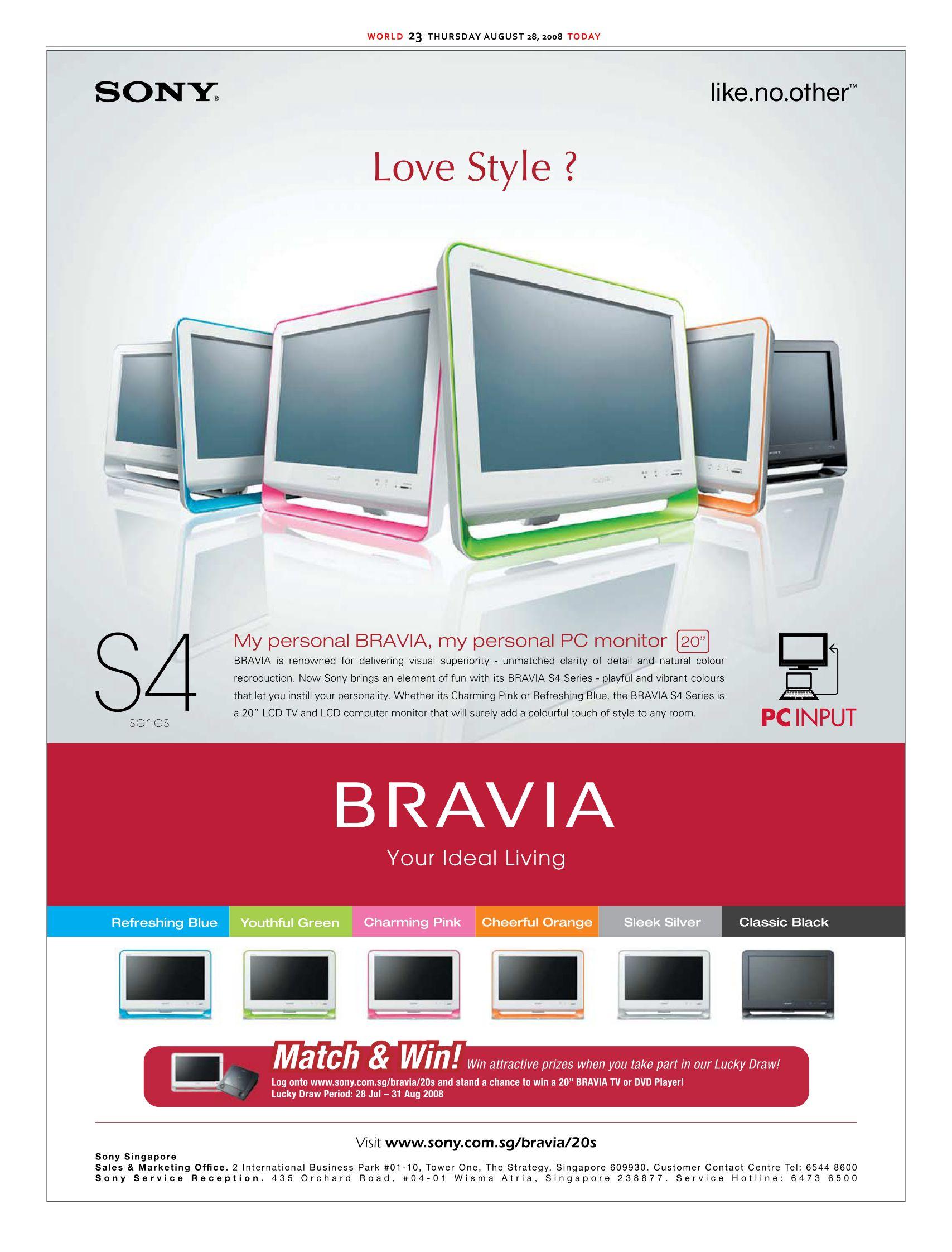 Comex 2008 price list image brochure of Sony Bravia Ad.pdf 01