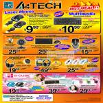 A4Tech Laser Mouse Keyboard WebCam G6 Wireless Headset G-Cube