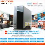 AOCOS HD100 RMVB MKV USB DVR Media Player
