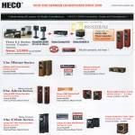 Heco Speakers Metas Aleva Celan Victa
