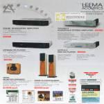 Leema Acoustics Amplifer CD Player Speaker
