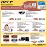 Aspire Desktop PCs M5800 Mini PC X3810 M7720 Gaming