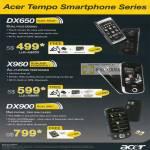 Tempo Smartphone DX650 X960 DX900