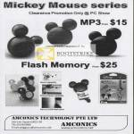 Mickey Mouse MP3 Flash Memory Players