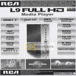 RCA L9 Media Player Real HD MKV MOV