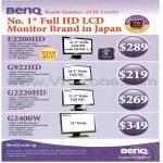 LCD Monitors E2200HD G922HD G2220HD G2400W