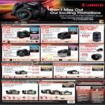 EOS DSLR 50D 500D 450D 1000D Cameras HD Camcorders Legria