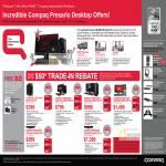 Compaq Presario Desktop CQ2019AP CQ3070D CQ3080D SR5890D CQ3088D CQ2280D