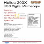 Helios 200X USB Digital Microscope