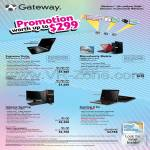 Notebooks ID5810g LT2005g LT2007g Desktops FX6801 P7905g