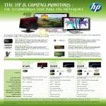 Compaq Presario LCD Monitors W185Q 2009f 2309m