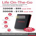 Life On The Go External Storage Drive