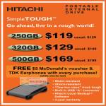 SimpleTOUGH Portable External Drive