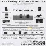 TV Mobile C5000 Mini DV W001 K600 K Touch T668