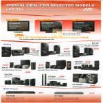 LCD TV Hifi DVD Player