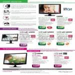 LCD Monitors TV W9154TQ W2254V W2442PA W2353V W2753V M197WA M22WA
