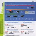 Linksys Cisco Wireless Router Dual Band ADSL2 USB Adaptor