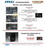 Chamoxa Motherboard P55 Team Xtreem Elite Xigmatek Midgard Chassis