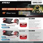 Gaming Notebook GT628 GT729