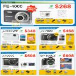 Digital Cameras FE-400 U550wp U7020 U9000 Sp-590uz
