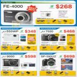 Olympus Digital Cameras FE-400 U550wp U7020 U9000 Sp-590uz