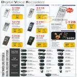 Digital Voice Recorders WS DS VN