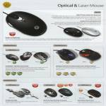 Mouse Optical Laser Zen Z1 GLX USB Air 2GO Zero