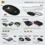 Mouse Optical Laser Zen Z1 GLX USB Air 2GO Zero