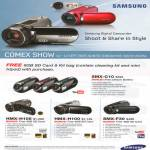 Digital Video Camcorders SMX C10 F30 HMX H105 H100