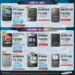 Mobile Phones Pixon C3053 M3510 Star D980 E2510 S3600 F480 E1110