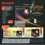 Aquos LED TV XS LC 65XS1M 32D30M 46D38M