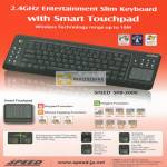 Entertainment Slim Keyboard Smart Touchpad SKB-2000