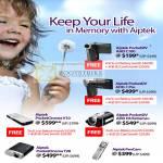 Aiptek PocketDV PocketCinema PenCam AHD V10 T20 H5