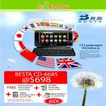 Besta CD-668S Chinese English E-Dictionary