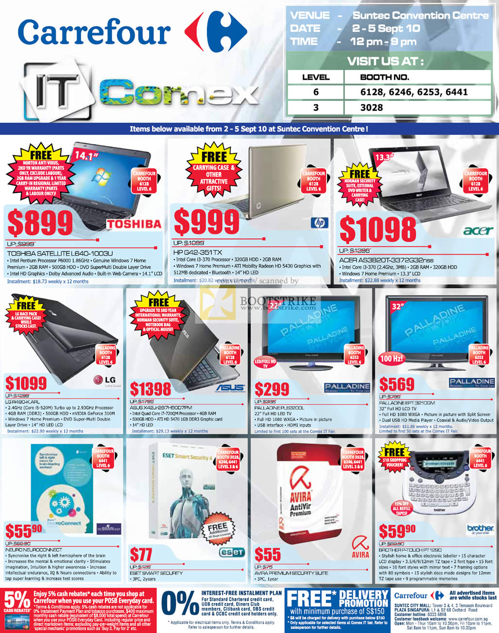 Carrefour's Comex 2010 Price Lists, Flyers, Promotions