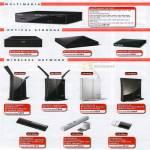 Media Player LinkTheater External Blu Ray DVD Portable Drive Nfiniti Gigabit Router HighPower Modem Adapter