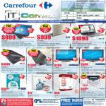 Carrefour Notebooks Toshiba L640 HP G42 Acer AS382OT LG ASUS Palladine LED TV LCD Antivirus Security