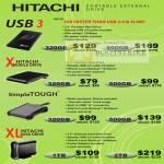 Hitachi External Storage USB 3 X SimpleTough XL