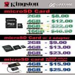 Kingston MicroSD Card Adapter USB Reader